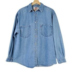 Vintage Levis Red Tab Women's L Long Sleeve Shirt